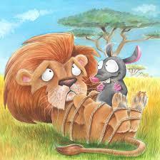 le-lion-et-le-rat