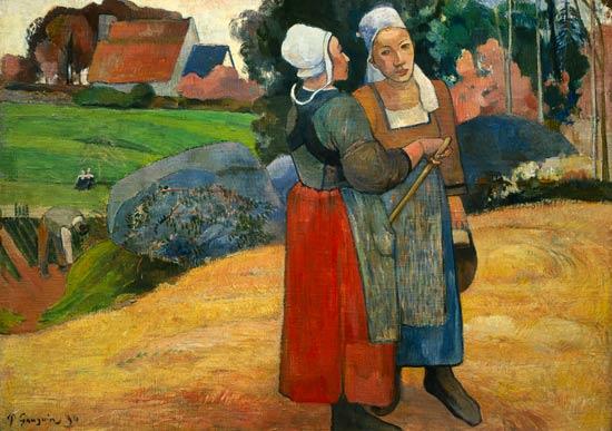 gauguin-paysannes-bretonnes