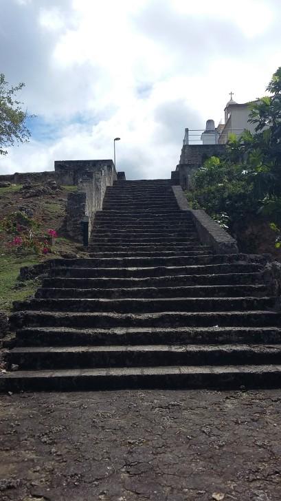 escalier aux esclaves