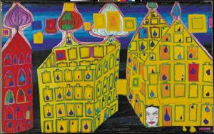 hundertwasser maison jaune