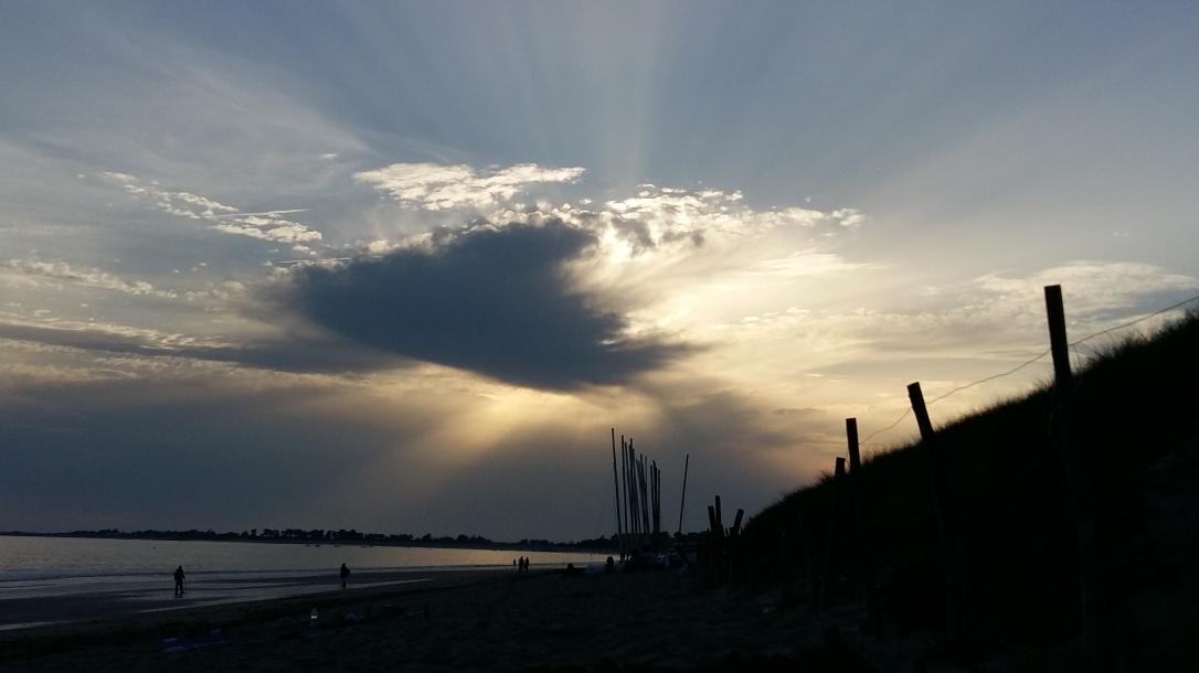 coucher de soleil île de ré
