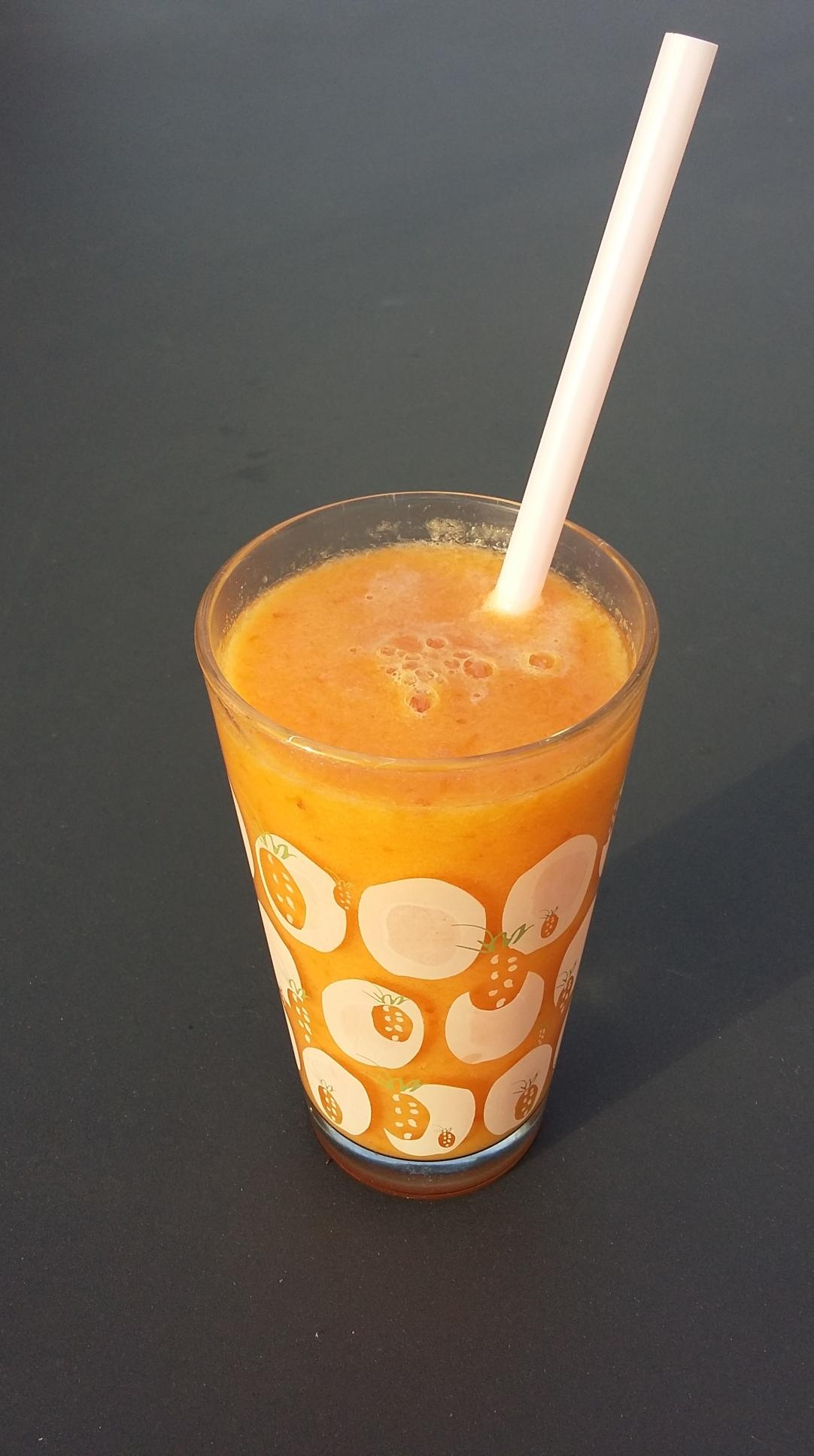 smoothie abricot-melon
