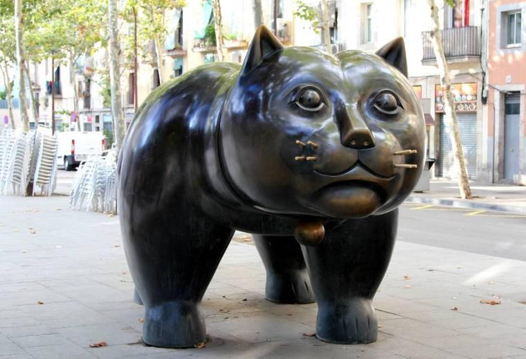 El gato Botero
