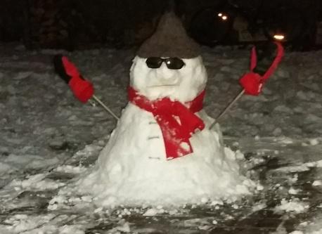 Bonhomme de neige 1