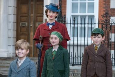 Mary Poppins et les enfants