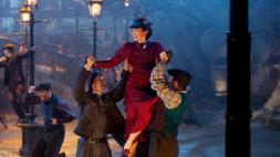 Mary Poppins réverbères
