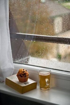 photo Lire pluie fenêtre