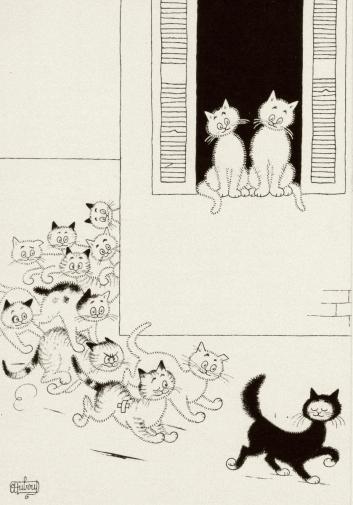 les-chats-du-merveilleux-albert-dubout-chats-pinterest-chat-propos-les-chats-de-dubout-dessin-libre.png