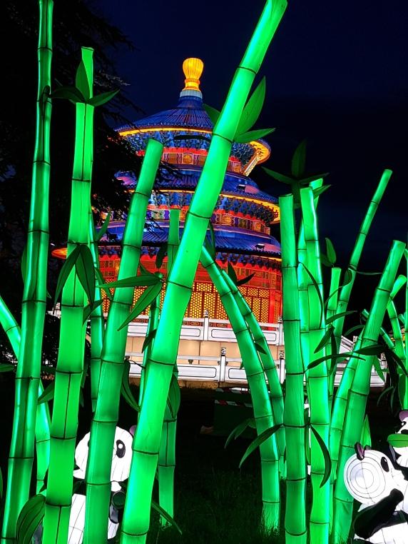 temple et pandas