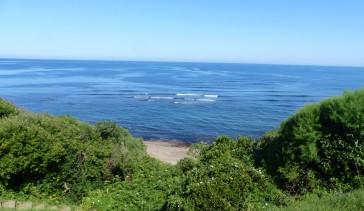 sentier et mer