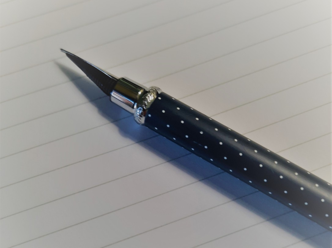 page et stylo